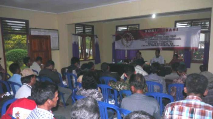 Kelompok Tani Belitung Terima Sosialisasi Empat Pilar MPR-RI