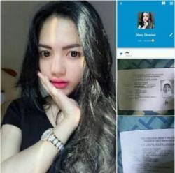Wanita Cantik yang Mengaku Mahasiswa Fakultas Hukum ULM Ini Diduga Penipu