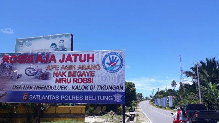 Jika Melintasi Jalan Tengah Pulau Belitung Ini Batas Kecepatan Maksimum Kendaraan Anda