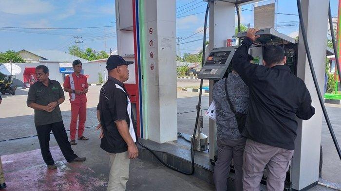 DPMPTSPP Belitung Timur Gelar Pengawasan Alat Ukur di Seluruh SPBU
