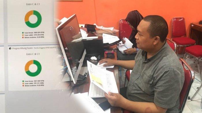 Staf KPU yang Bertugas Uploud Data ke SITUNG Curhat Sindir Tukang Fitnah dan Penyebar Hoax