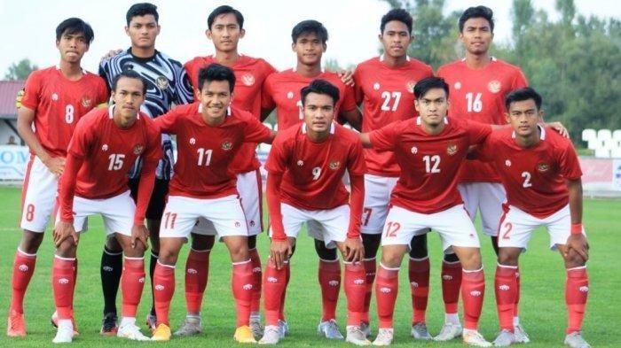 Starting utama 11 pemain Timnas U-19 Indonesia yang diturunkan bermain di pertandingan uji coba.