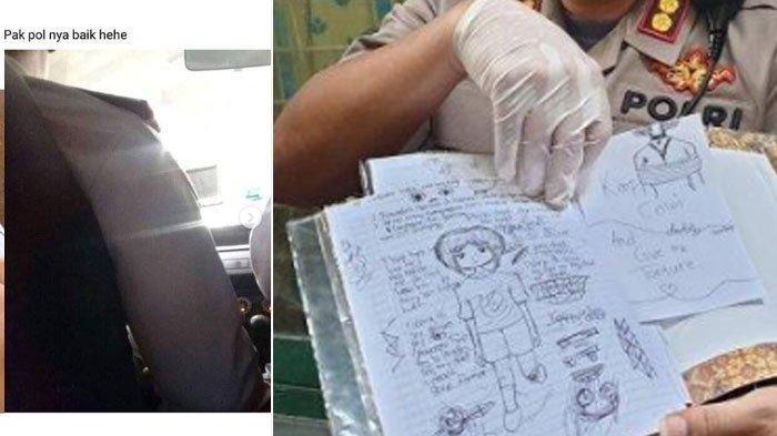Screenshoot Diduga Status Siswi SMP Ramai Dibicarakan usai Bunuh Bocah 6 Tahun: Pak Polnya Baik Hehe