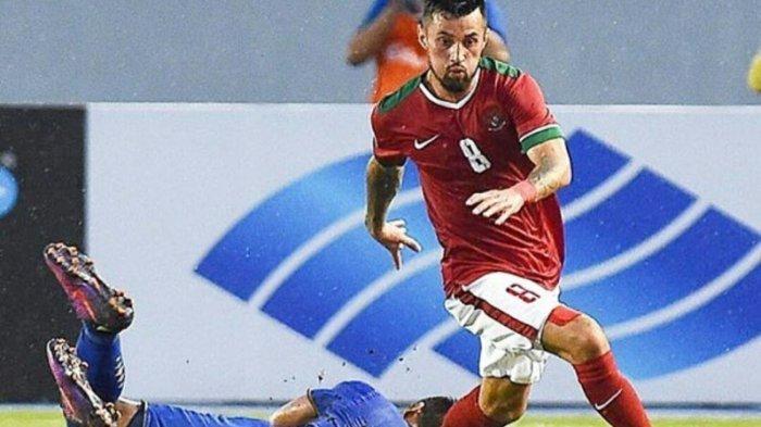 Kualifikasi Piala Dunia 2022, Stefano Lilipaly Antusias Hadapi Malaysia Rival Timnas Indonesia