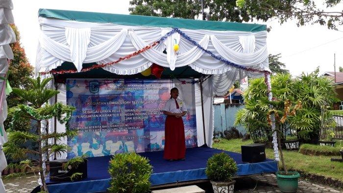 Lestarikan Budaya Lokal Lalui Cerita Rakyat, Dinas Kearsipan dan Perpustakaan Gelar Story Telling - story-telling_20170405_093218.jpg
