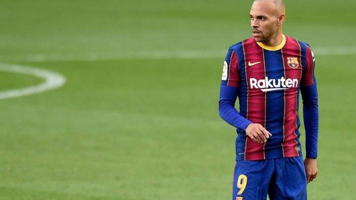 Striker Darurat Barcelona Yakin Tak Akan Didepak, Martin Braithwaite Ngotot Pertahankan Tempatnya