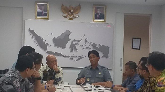 Tagih Janji Dok Manggar, Yuslih Kunjungi Kementerian Perdagangan