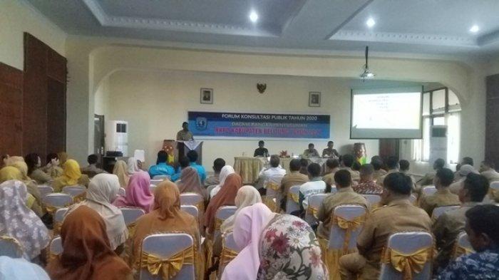 RKPD Pemerintah Kabupaten Belitung, Ini Prioritas Rencana Pembangunan Kata Bupati Belitung
