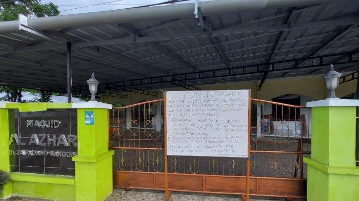 Mulai Berlaku Hari Ini, Masjid Sepi Tak Selenggarakan Jumatan di Manggar