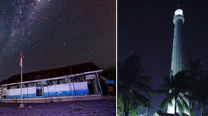 Eksotisme Malam Tahun Baru di Belitong, Parade Bintang Sampai Sinar Mercusuar