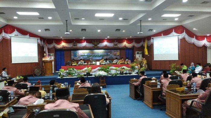 Pada Rapat Paripurna HJKT ke-182, Bupati Belitung Sebut Jangan Tinggalkan Sejarah