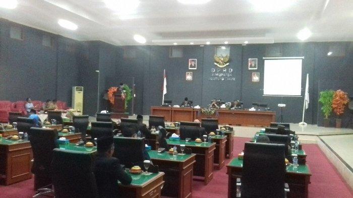 LKPJ, DPRD Belitung Timur Berikan 21 Catatan