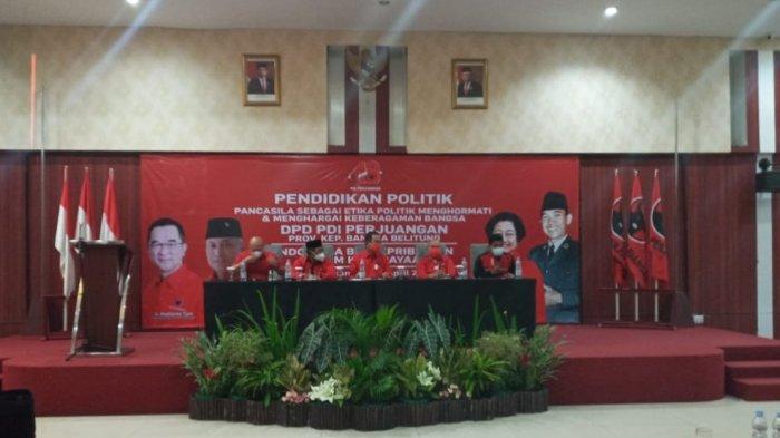 Rudianto Tjen Gelorakan Nasionalisme Kader DPD PDI Perjuangan di Pulau Belitung