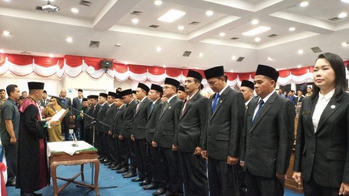 Ketua DPRD Belitung Sementara Ansori Berterima Ucapkan Syukur dan Terima Kasih