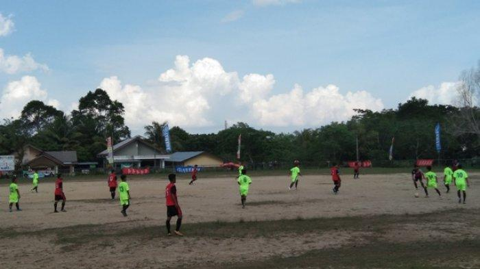 Sijuk 2 Berhasil Unggul 3-2 Atas Tanjungpandan 2 Pada Lanjutan Turnamen Bupati Cup
