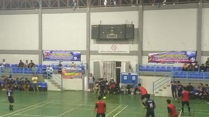 Satam FC Vs Atom FC di Final Pelangi Futsal Cup II