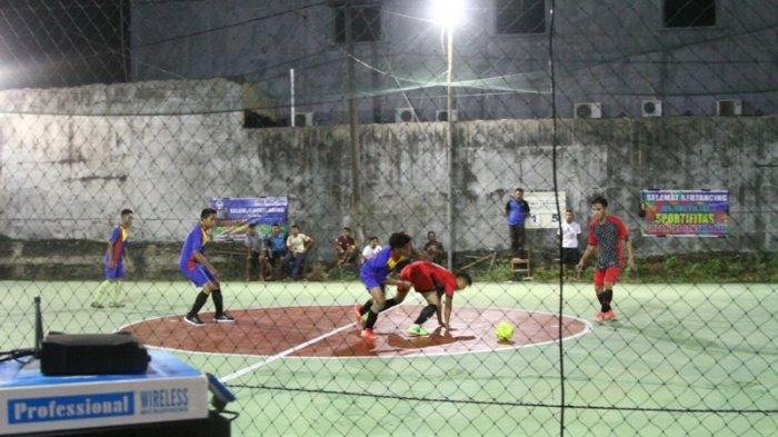 Turnamen Pelangi Futsal CUP 2018r, Bhayangkara Menang Besar Atas KFC 1 , Skor 7-2