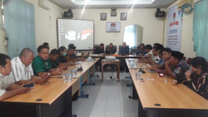 KPU Kabupaten Belitung Tetapkan DCT 333 Caleg