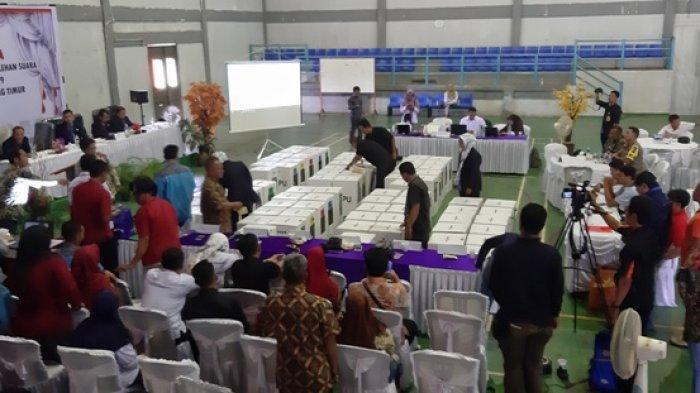 KPU Belitung Timur Targetkan Rekapitulasi Tingkat Kabupaten Selesai Sehari