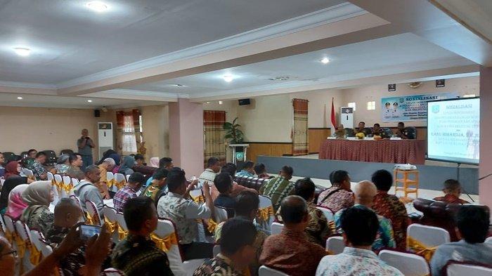 Wabup Belitung Timur Larang Wartawan Liput Acara Sosialisasi Pencegahan Korupsi terhadap APBD