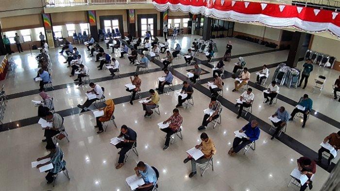 Ujian Akademis Selesai, Hasilnya Dikembalikan ke Panitia Desa