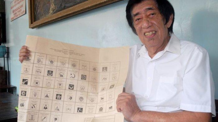 Dokter Suhendro Koleksi Surat Suara mulai Pemilu Tahun 1957