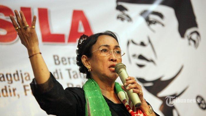 Sukmawati Soekarnoputri Resmi Dilaporkan ke Polisi Tuduhan Penistaan Agama