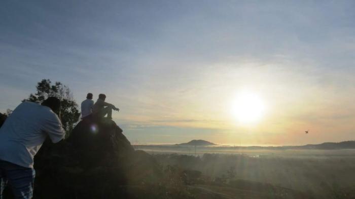 Pihak Desa Ingin Kembangkan Pariwisata di Spot Pemantauan GMT Terlama