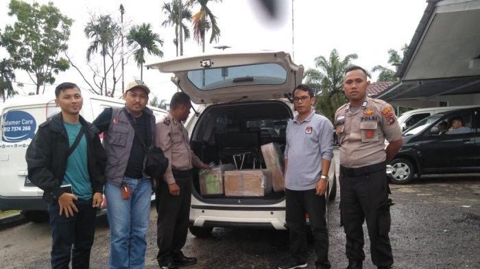 Surat Suara Tambahan Tiba Di Gudang Logistik KPU Belitung Timur