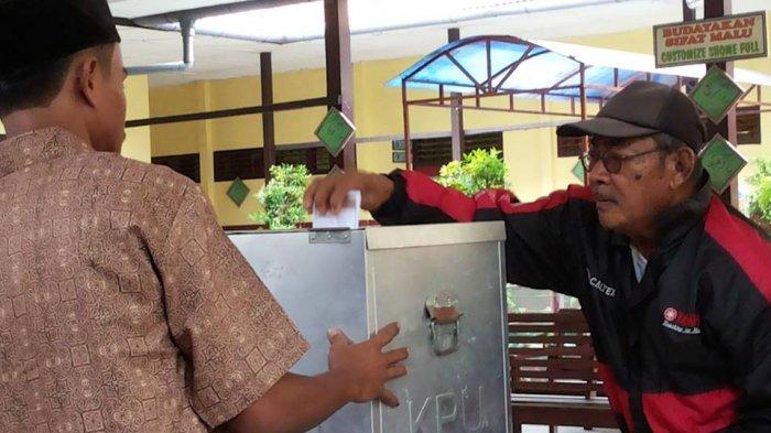 Pemungutan Suara di TPS 6 Kelurahan Kota Berjalan Lancar
