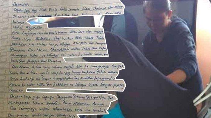 Foto Isi Surat Wasiat Terduga Calon Pengantin Bom Bekasi Tersebar, Begini Kalimat Penutupnya