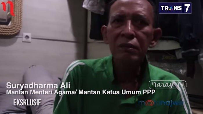 Kondisi Mantan Menteri Agama Suryadharma Ali di Lapas, Ada Tabung Oksigen di Selnya