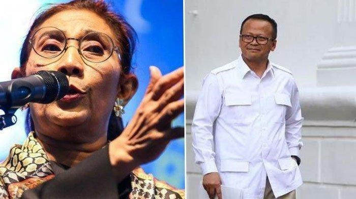 Edhy Prabowo Menteri Tercepat Ditangkap KPK, Ini 4 Kebijakannya Bertentangan dengan Susi Pudjiastuti