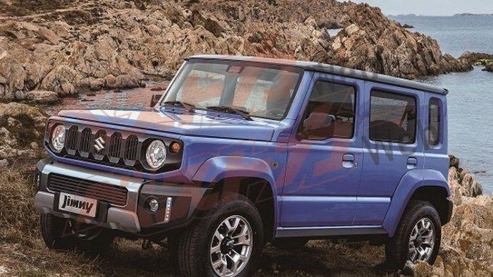 India Jadi Negara Kedua Selain Jepang yang Memproduksi Suzuki Jimny