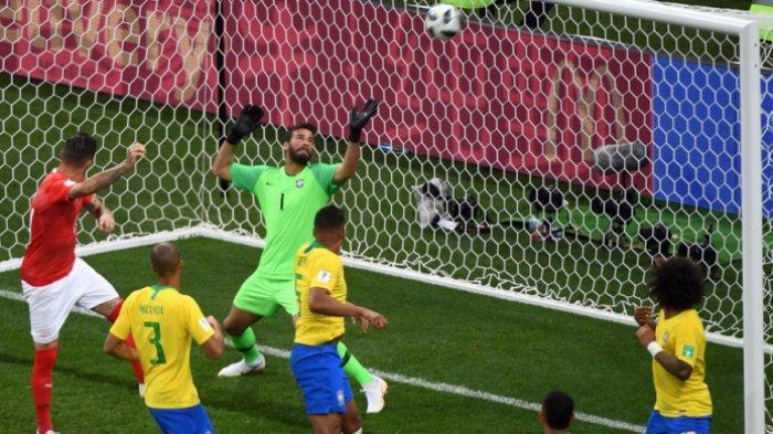 Brasil Ditahan Imbang Swiss, Gol Indah Philippe Coutinho Dibalas Gol Kontroversi Steven Zuber