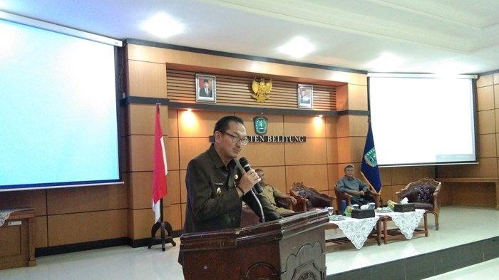 Wabup Belitung Buka Talkshow Literasi Gerakan Pemasyarakatan Minat Baca