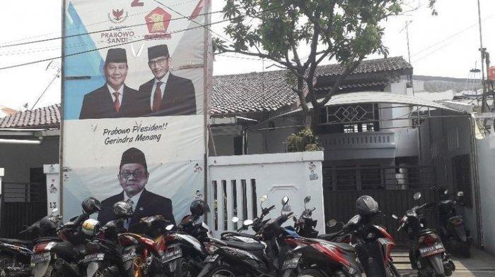 Seorang Pria di Posko Pemenangan Politisi Partai Gerindra Ditangkap Karena Dugaan Politik Uang