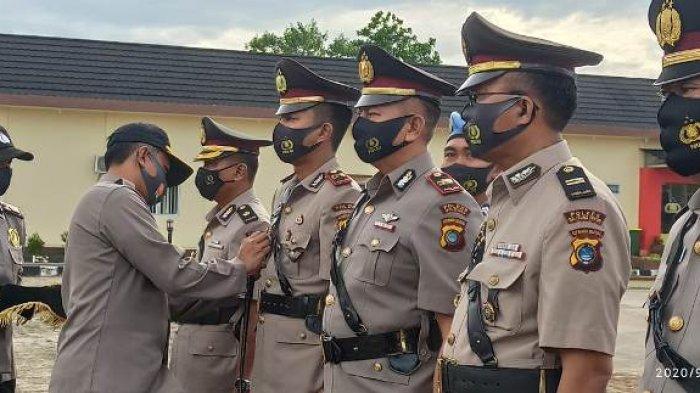 Tiga Pejabat di Polres Belitung Timur Dilantik, Ini Pesan Kapolres