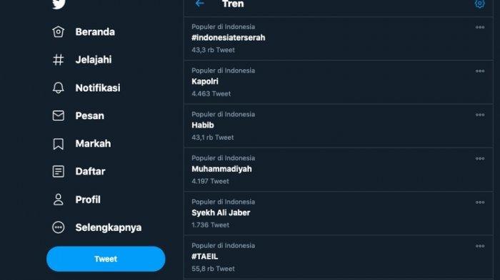 Taggar IndonesiaTerserah Jadi Trending Topik di Twitter, Boleh Suka-Suka, Terserah yang Buat Aturan