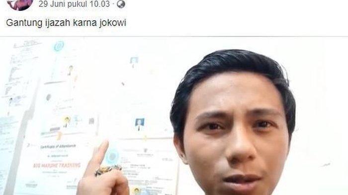 Tagih Janji Jokowi Soal Pengangguran dengan Fokus Nganggur, Video Pemuda Ini Viral