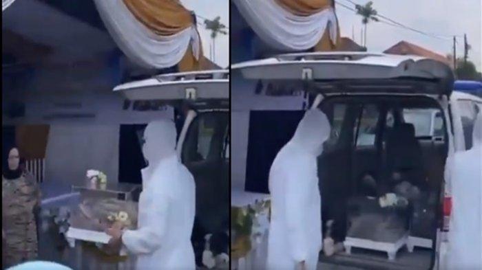 Viral Ambulans Angkut Seserahan Pernikahan di Palembang, Ini Respon Dinkes Palembang