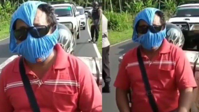 Celana Dalam Dijadikan Masker Viral, Pengendara Ini Blak-blakan Sebut Memiliki Dua Fungsi