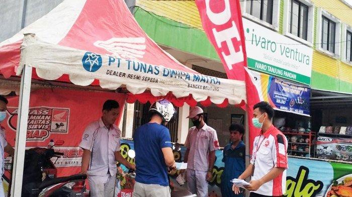 TDM Honda Belitung Berikan Paket Servis Ekonomis Untuk Konsumen