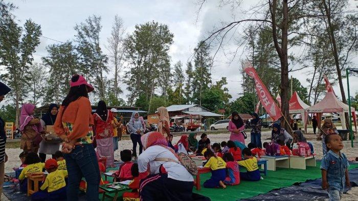 TDM Manggar Hibur Masyarakat dan Pengunjung Pantai Serdang Desa Baru Manggar - tdm-manggar-road-show.jpg