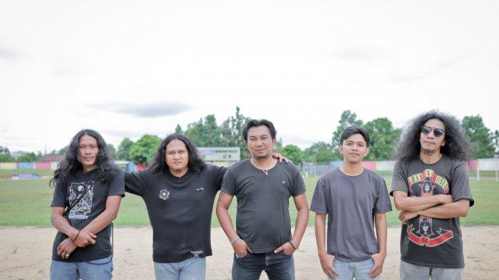 Ted Guns, Band Belitung Pertahankan Rock and Roll, Luncurkan Single Perdana Cinta di Pangkallalang