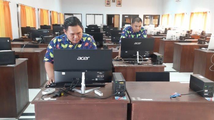 BKPSDM Belitung Timur Siapkan Ruang Khusus Bagi Peserta SKB, Peserta Diminta Jaga Kesehatan