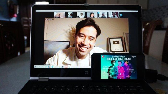 Telkomsel Ajak Jurnalis Ngobrol Inspiratif Bareng Vidi Aldiano di Celeb On Cam