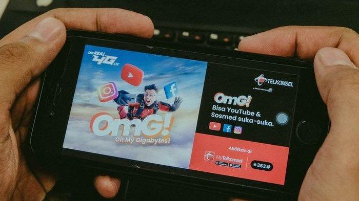 OMG! Paket Internet Terbaru dari Telkomsel, Simak Keunggulannya