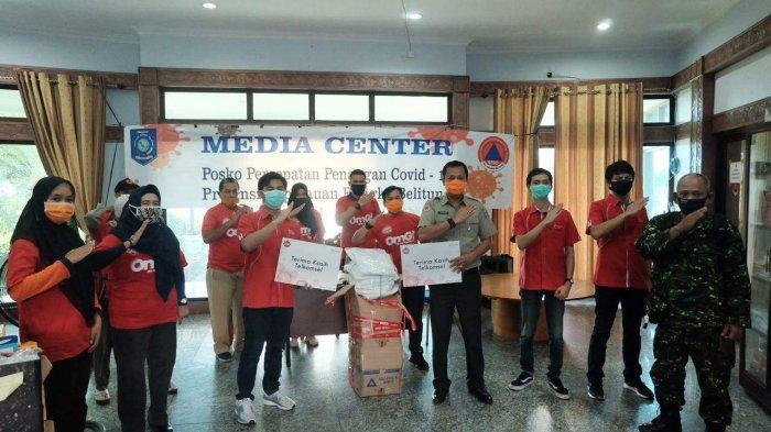 Telkomsel Serahkan Bantuan Alat Pelindung Diri Bagi Tenaga Medis di Sumatera