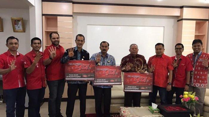 Telkomsel Luncurkan Jaringan 4G LTE di Kuala Tungkal Jambi